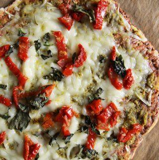 Cukinová pizza_bez zrnka múky