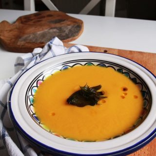 Tekvicovo – jablková krémová polievka