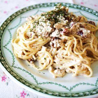 """Vegánske špagety """"Carbonara"""""""
