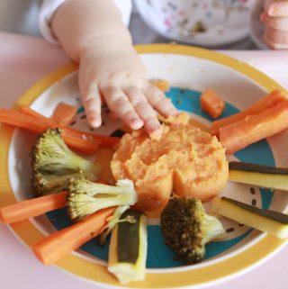 Šošovicovo – batátový hummus pre deti