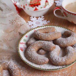 Voňavé vanilkovo – orechové rožky zo špaldovej múky